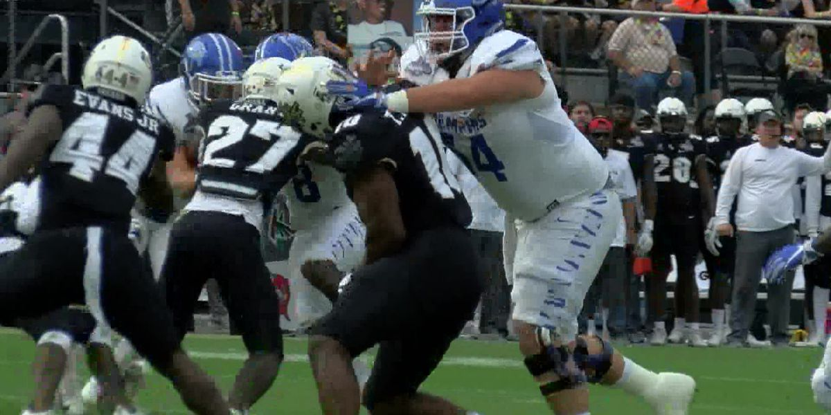 UCF Knights end Memphis Tigers' dream of revenge; win 56-41
