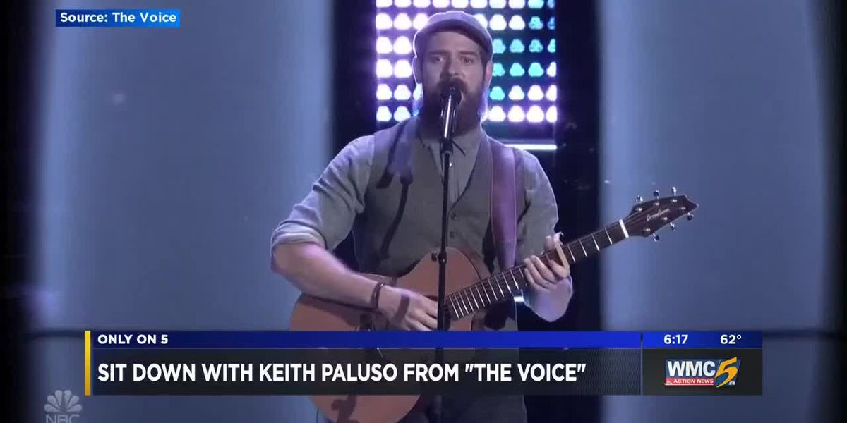 """Sit down with Keith Paluso from """"The Voice"""""""