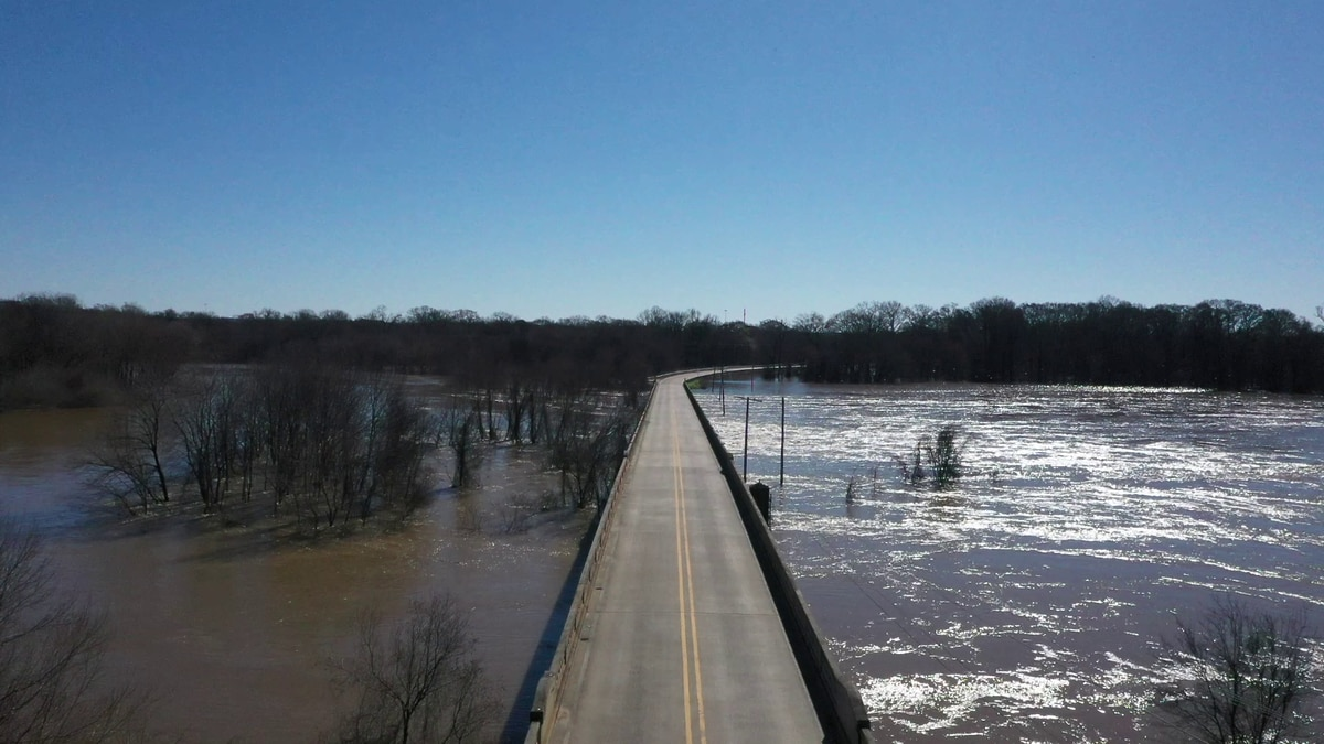 MEMA releases initial damage report from Pearl River flooding