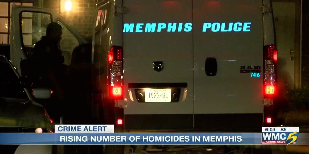 Homicide rate up in Memphis from previous year