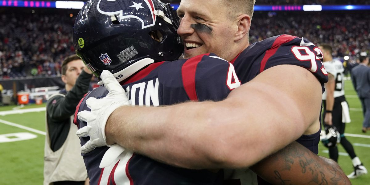 Texans clinch AFC South title with 20-3 win over Jaguars