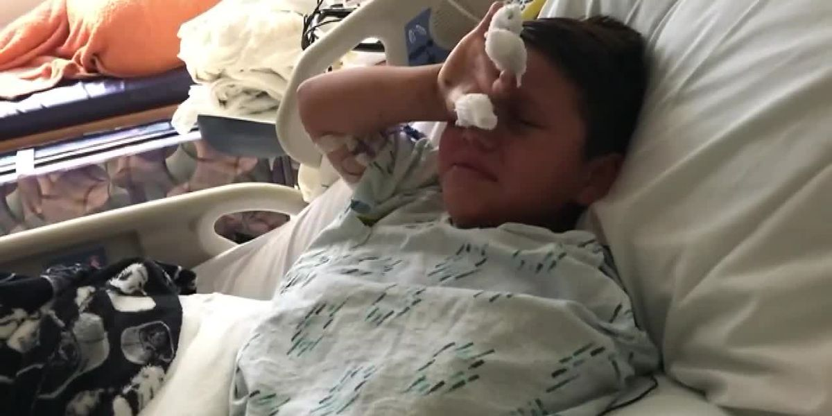 10-year-old loses hand in firework prank