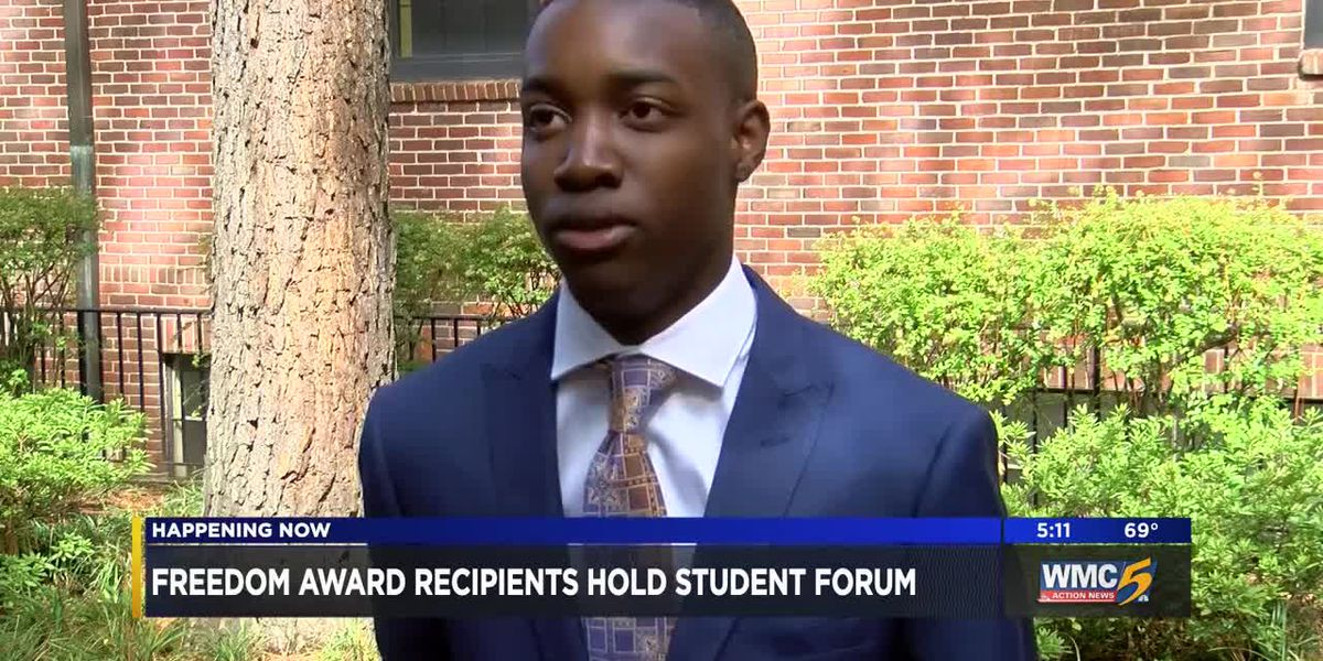Freedom Awards hold student forum