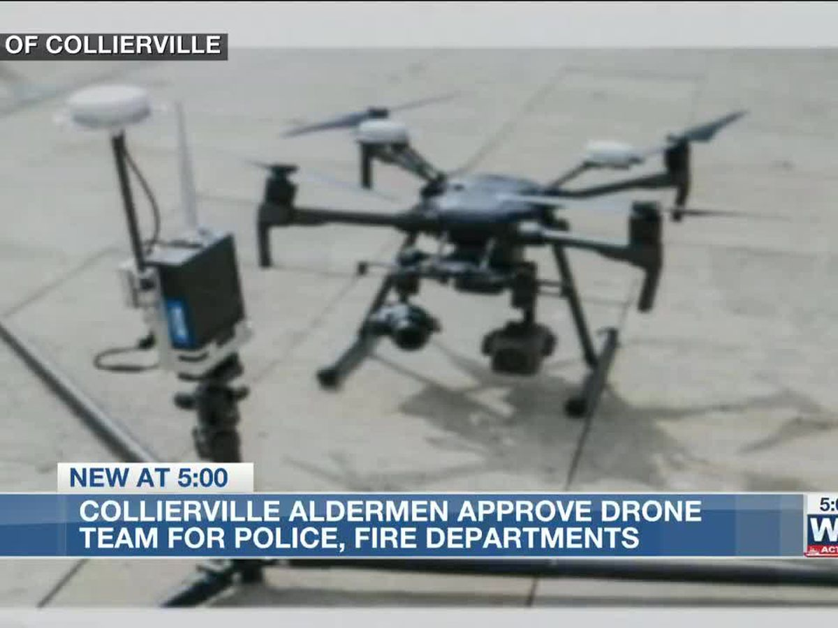 Collierville aldermen approve creation of drone team for police, fire departments