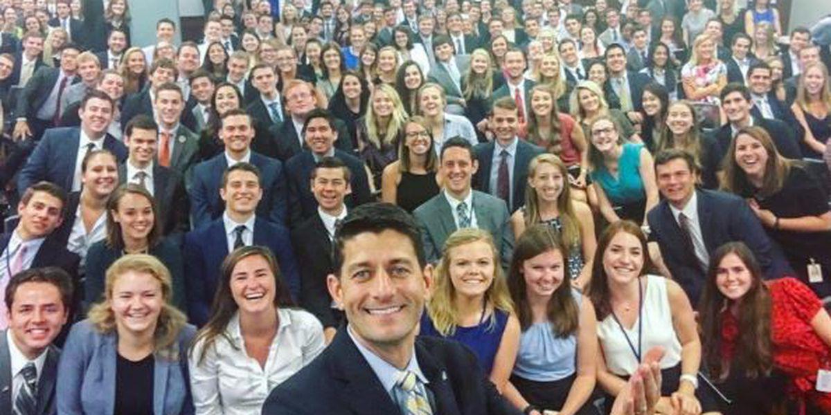 House Speaker's selfie sparks internet backlash