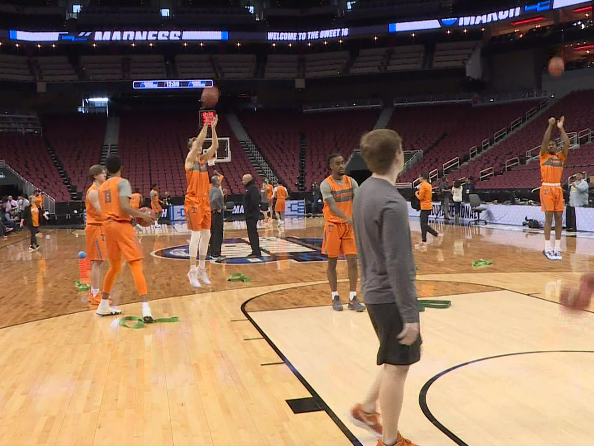 Tennessee Vols prepared for NCAA Sweet 16 game against Purdue