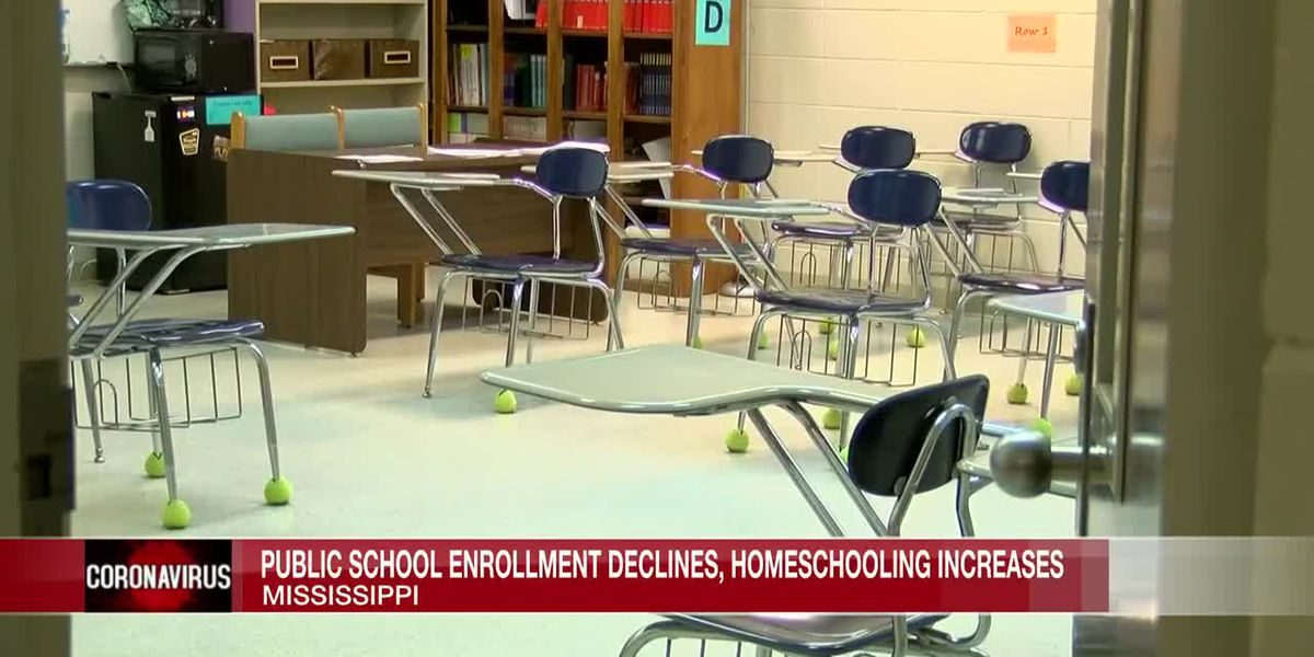 Homeschooling increases as fewer students enroll in Mississippi public schools