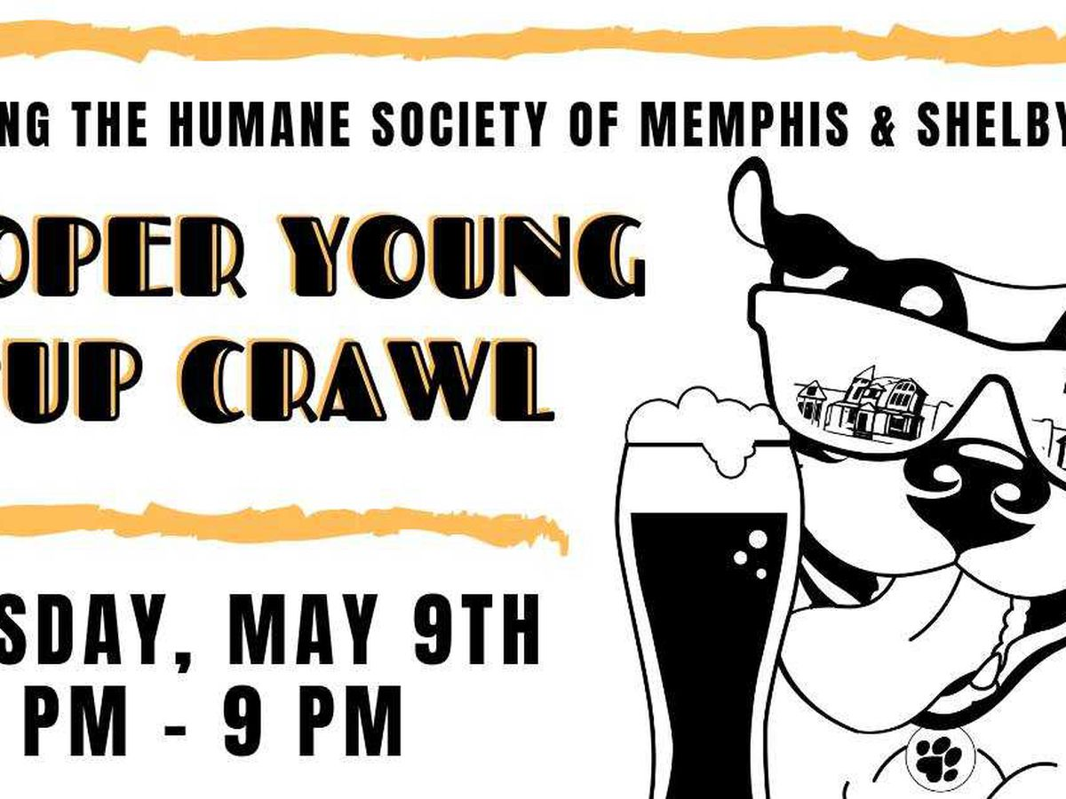 Cooper-Young hosts 5th annual Pup Crawl benefiting the Humane Society