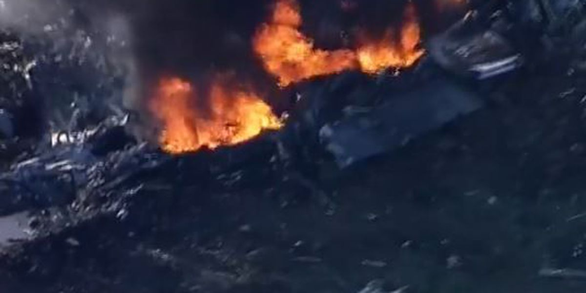 16 dead in Marine KC-130 crash in Mississippi