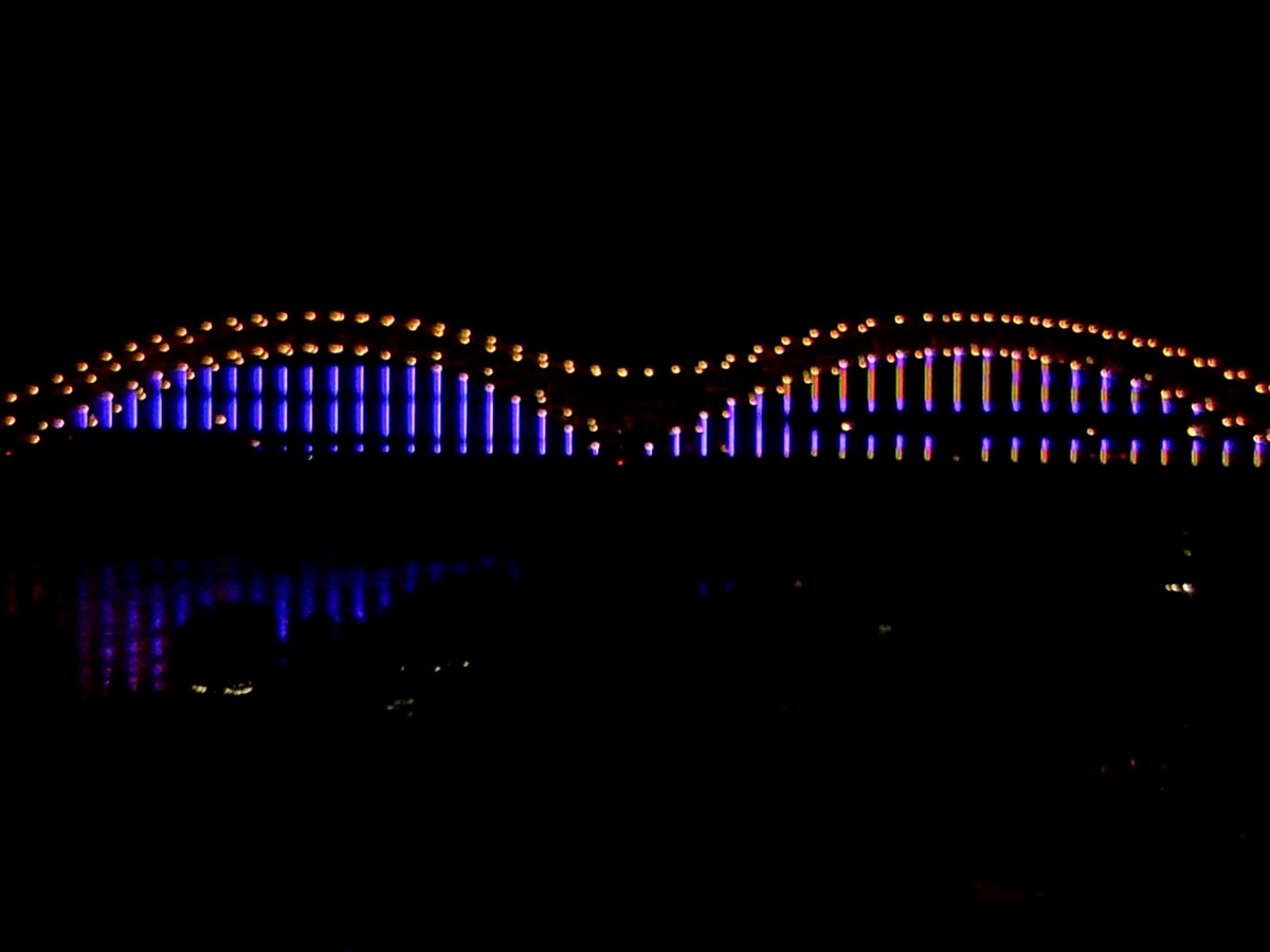 La Prensa Latina, City of Memphis kick off Hispanic Heritage Month with bridge lighting