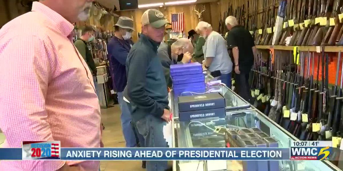 Anxiety rising ahead of presidential election