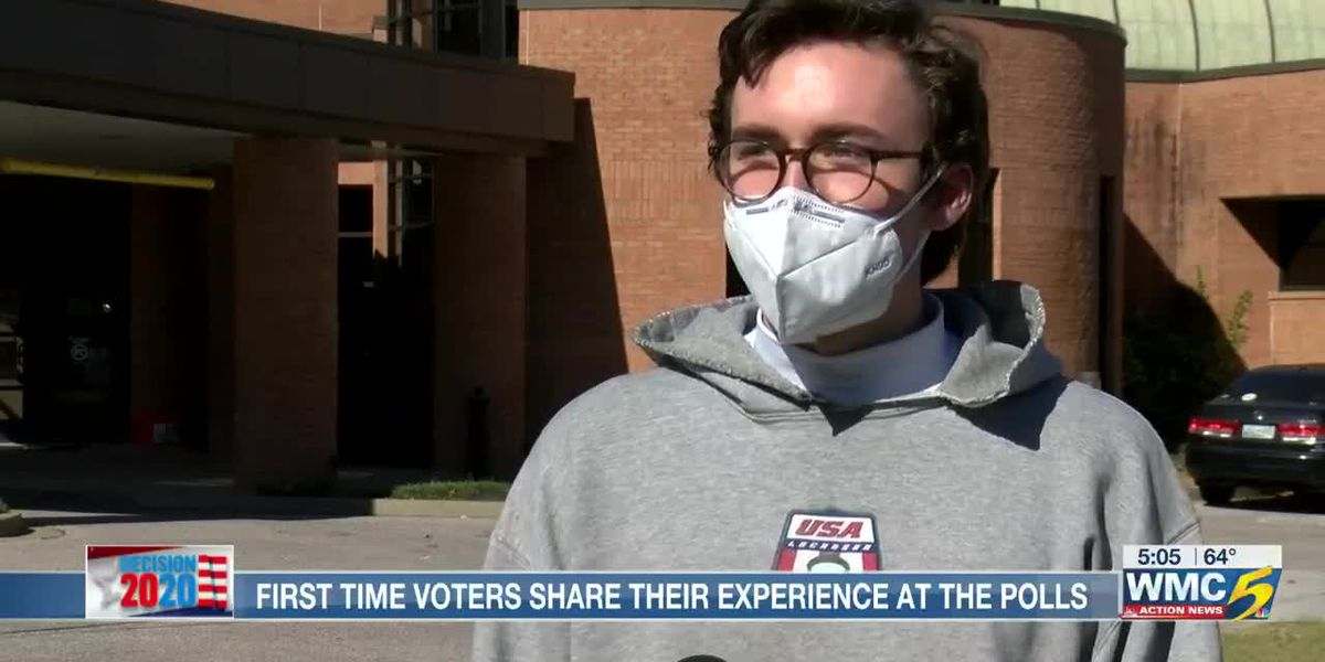 First-time voters thrilled to cast ballots in 2020 election