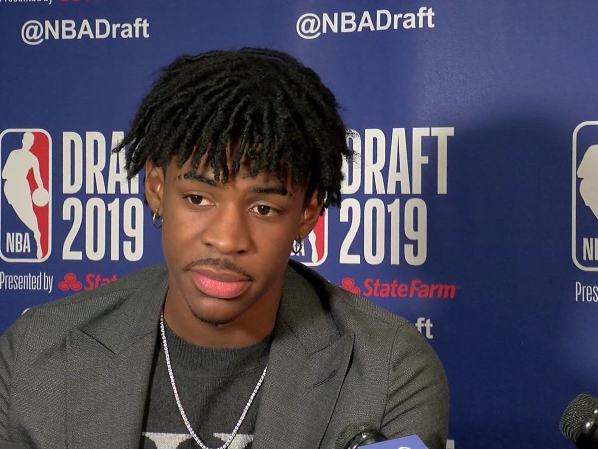 Ja Morant is Grizzlies PG of future as No. 2 pick