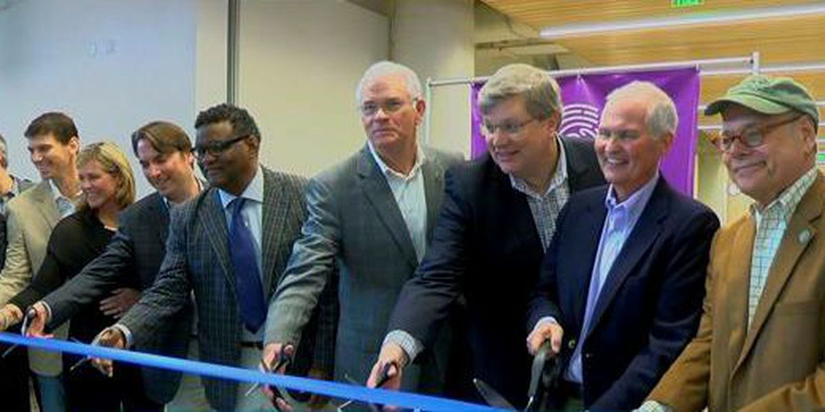 Leaders celebrate new Crosstown Concourse facilities