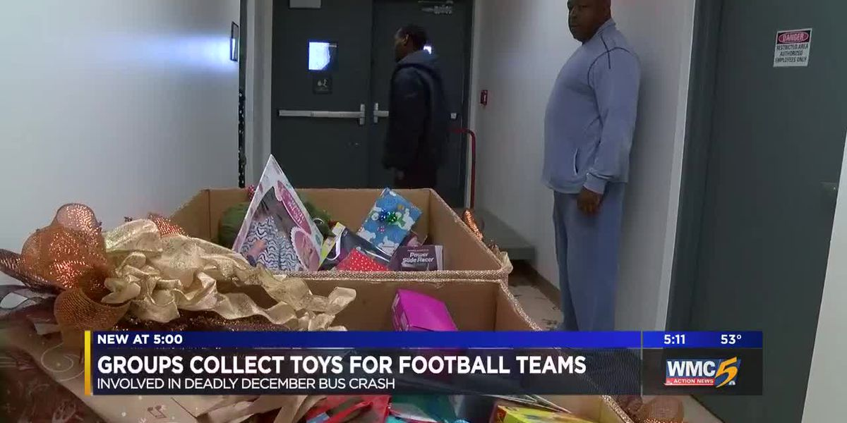 UTHSC donates 300 toys to bus crash victims and their families