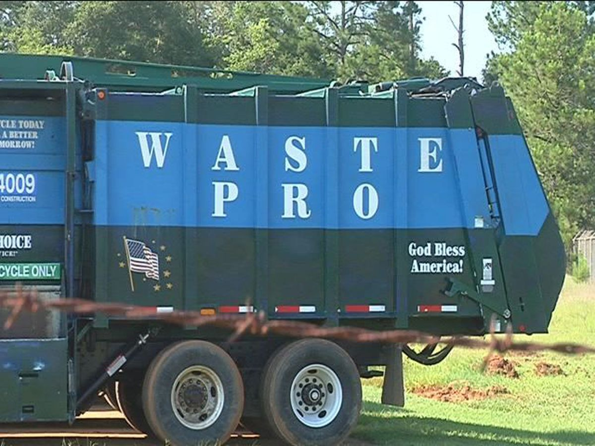 Waste Pro customers fed up with trash overpile