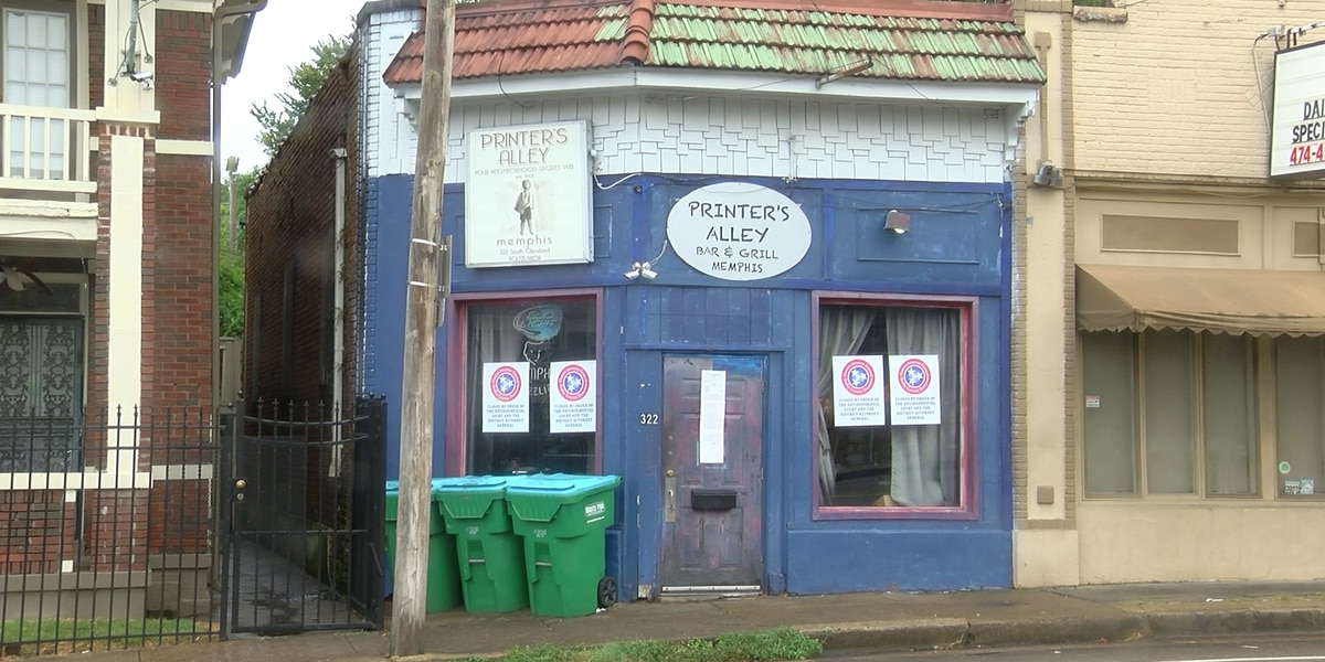 Printer's Alley closed after violating consent agreement