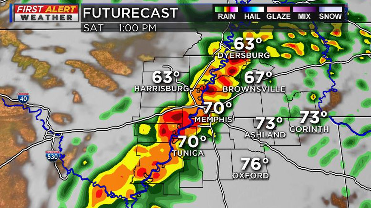 FIRST ALERT: Severe storms threaten the Mid-South Saturday