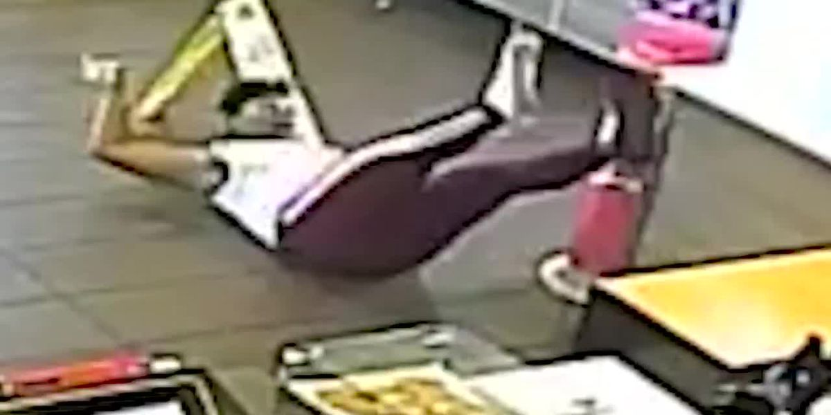 McDonald's customer hit in the face with a blender