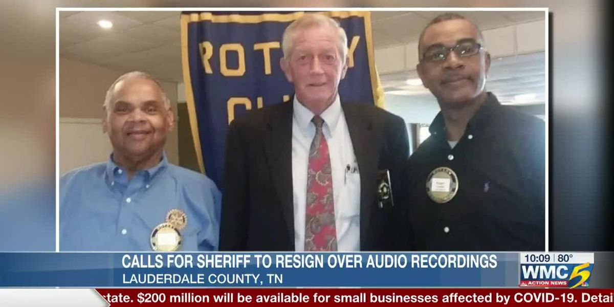 Calls for sheriff to resign over audio recordings