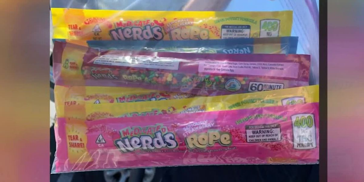 2 kids hospitalized after eating THC-laced candy from Utah food bank