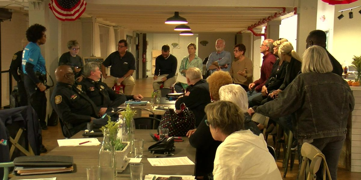 Neighbors share concerns about crime in downtown area