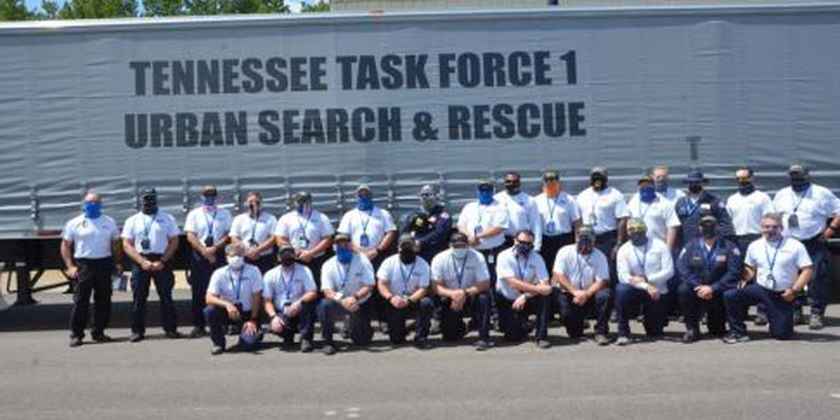 Tennessee Task Force 1 deploys to Louisiana for Hurricane Sally