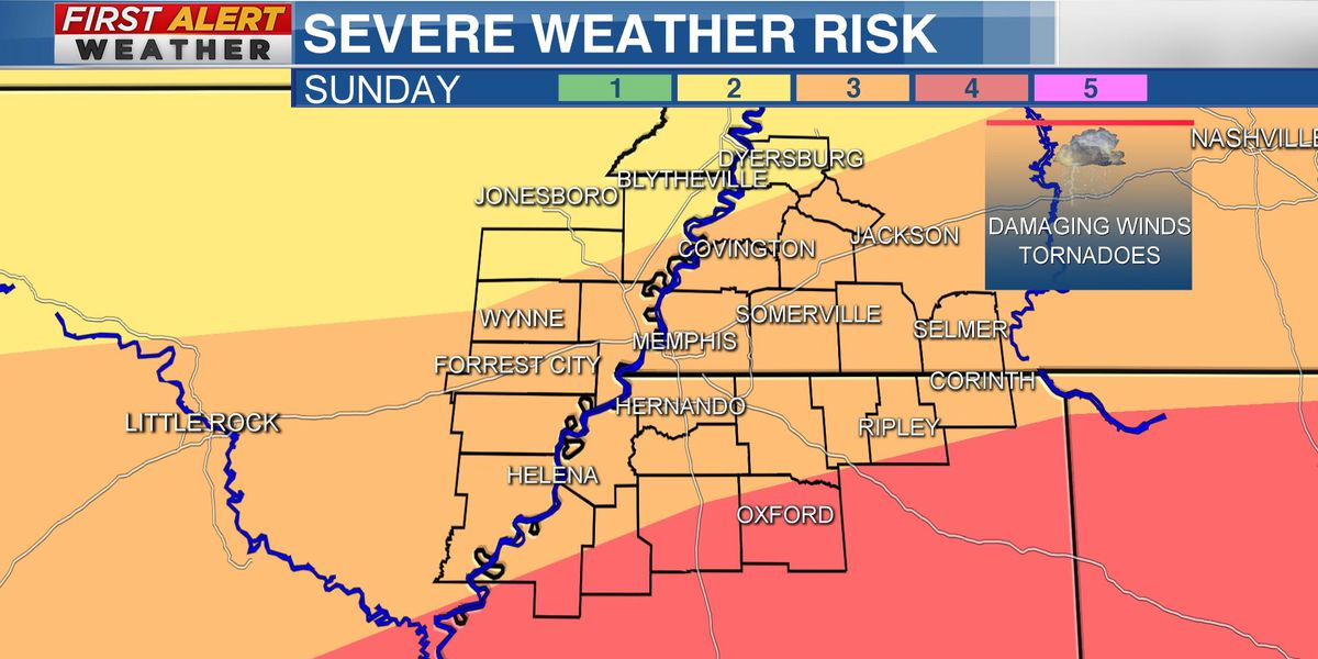 FIRST ALERT WEATHER DAY: Severe storms likely Easter Sunday