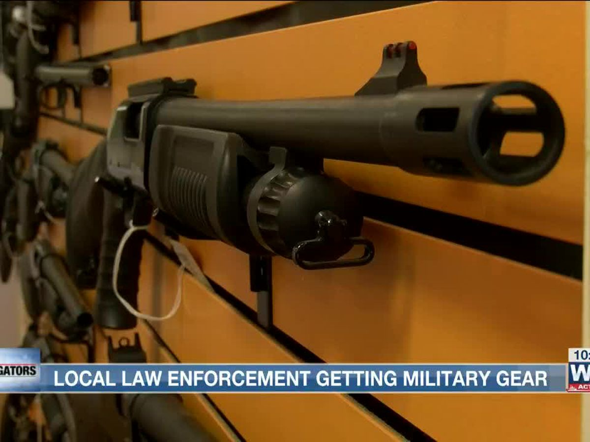 Military equipment flows to Mid-South law enforcement agencies