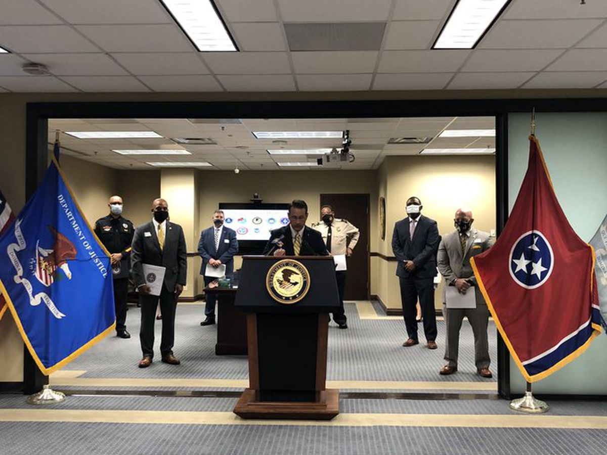 WATCH: US attorney announcing new operation to fight crime in Memphis