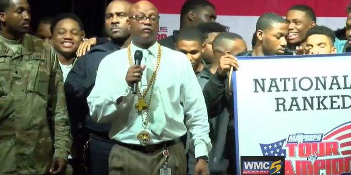 Whitehaven High School football team honored with national ranking