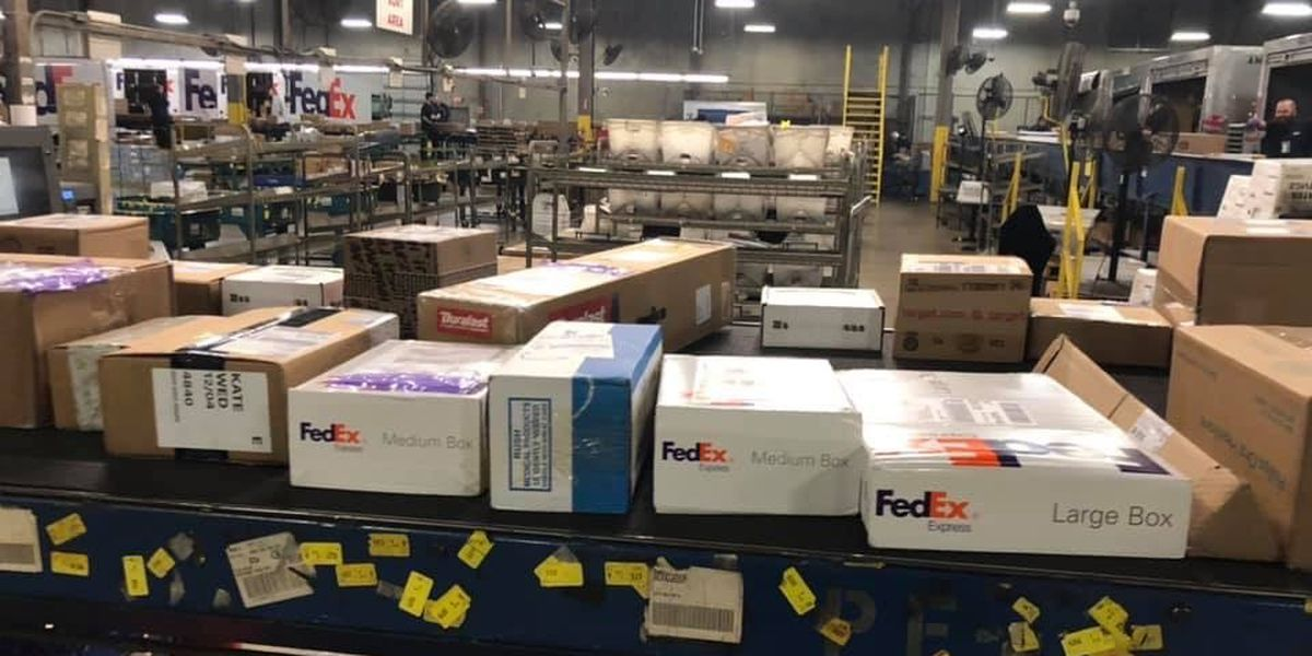 FedEx packages delayed nationwide, 'substantial disruptions' reported at Memphis hub
