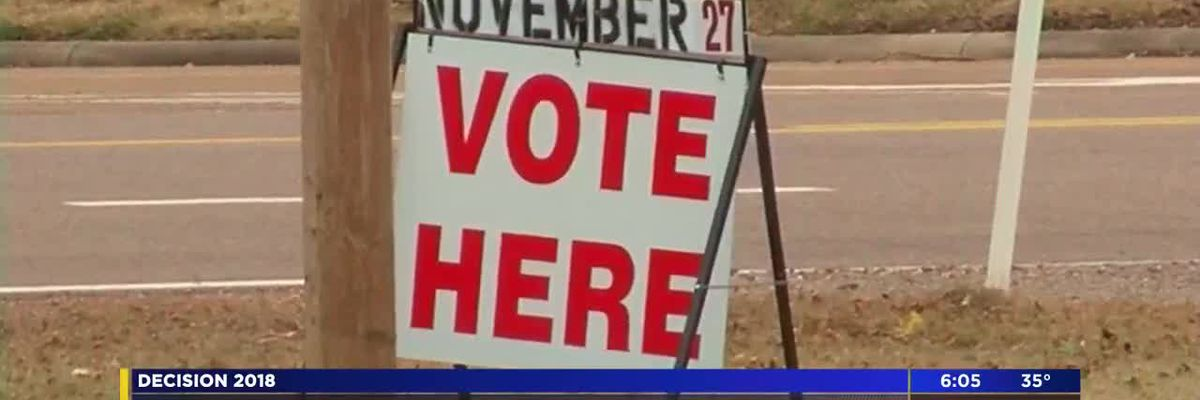 Residents vote in historic Mississippi Senate runoff