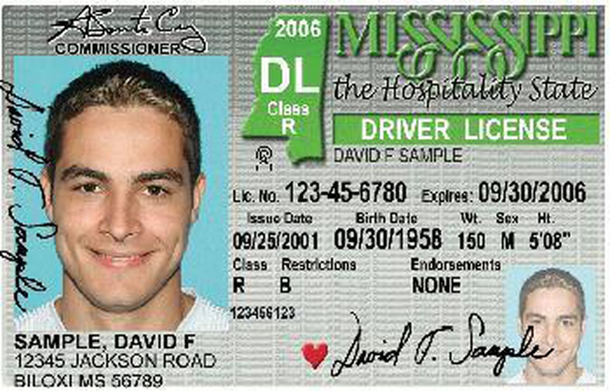 drivers license in jackson ms