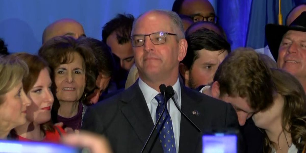 Democrat Edwards wins re-election in conservative Louisiana