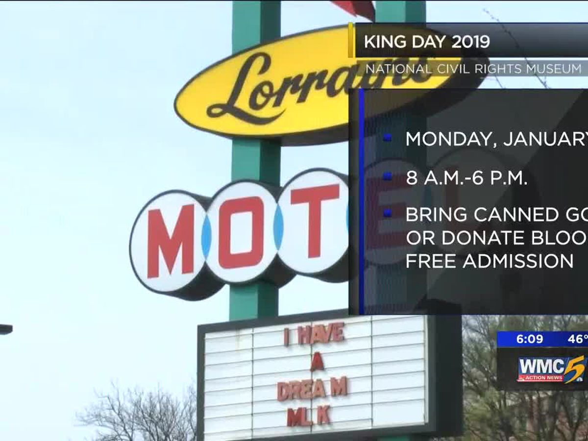 National Civil Rights Museum offering free admission on MLK Day