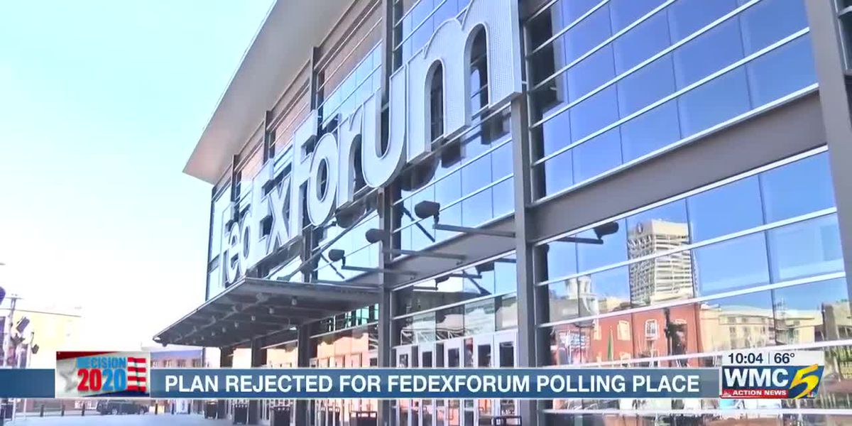 Push to make FedExForum voting site fails