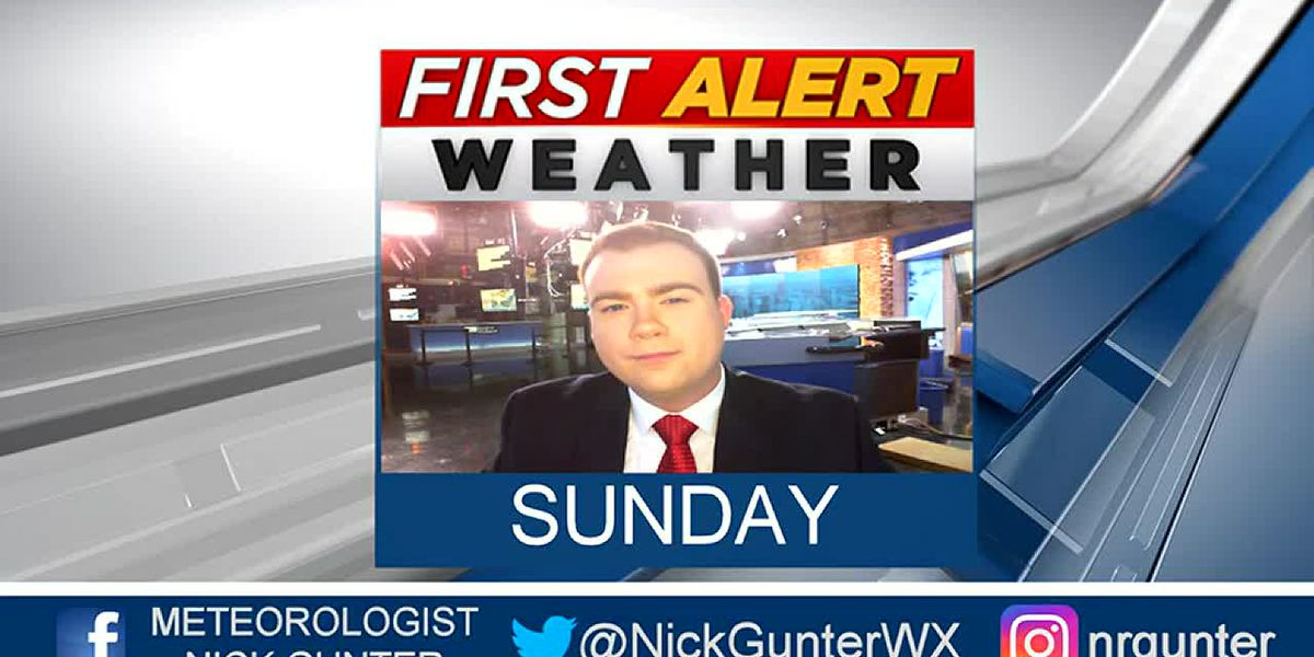 Sunday, October 6th, First Alert Forecast