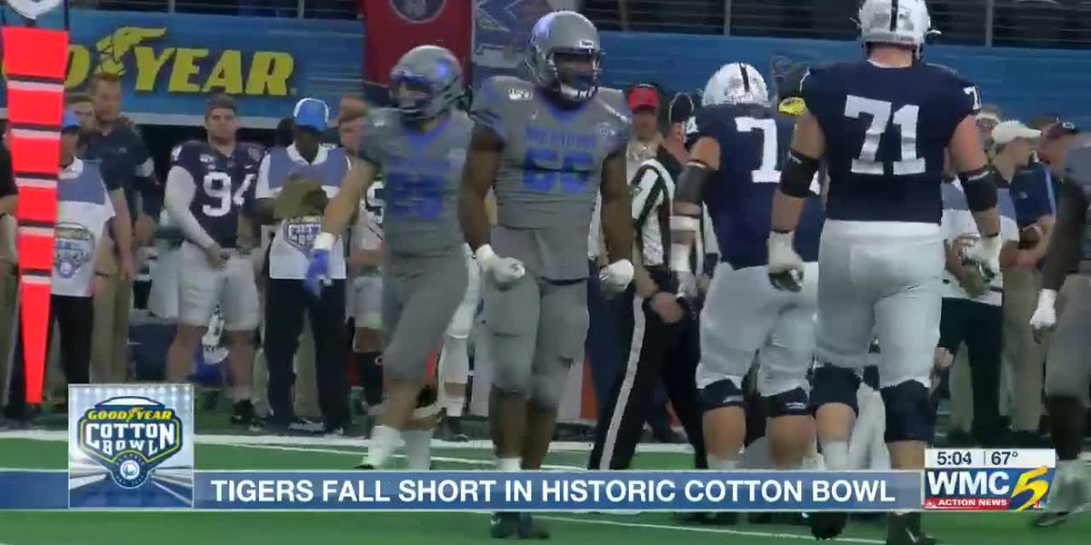 Tigers fall short in historic Cotton Bowl