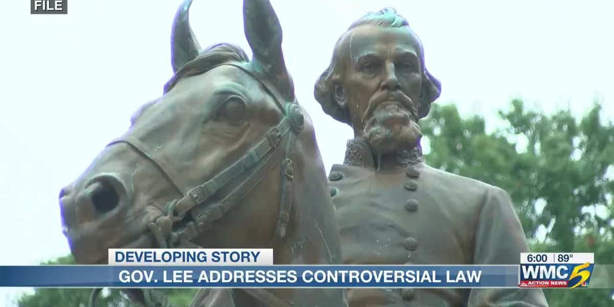 Gov. Bill Lee says conversation needs to be had about Nathan Bedford Forrest bust in state Capitol