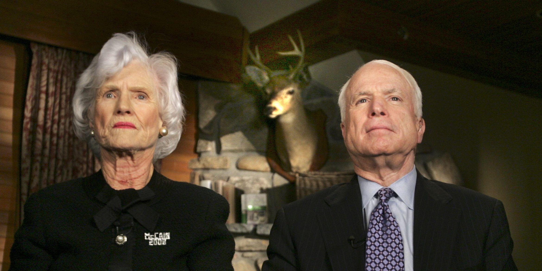 Roberta McCain, John McCain's mother, dies at 108