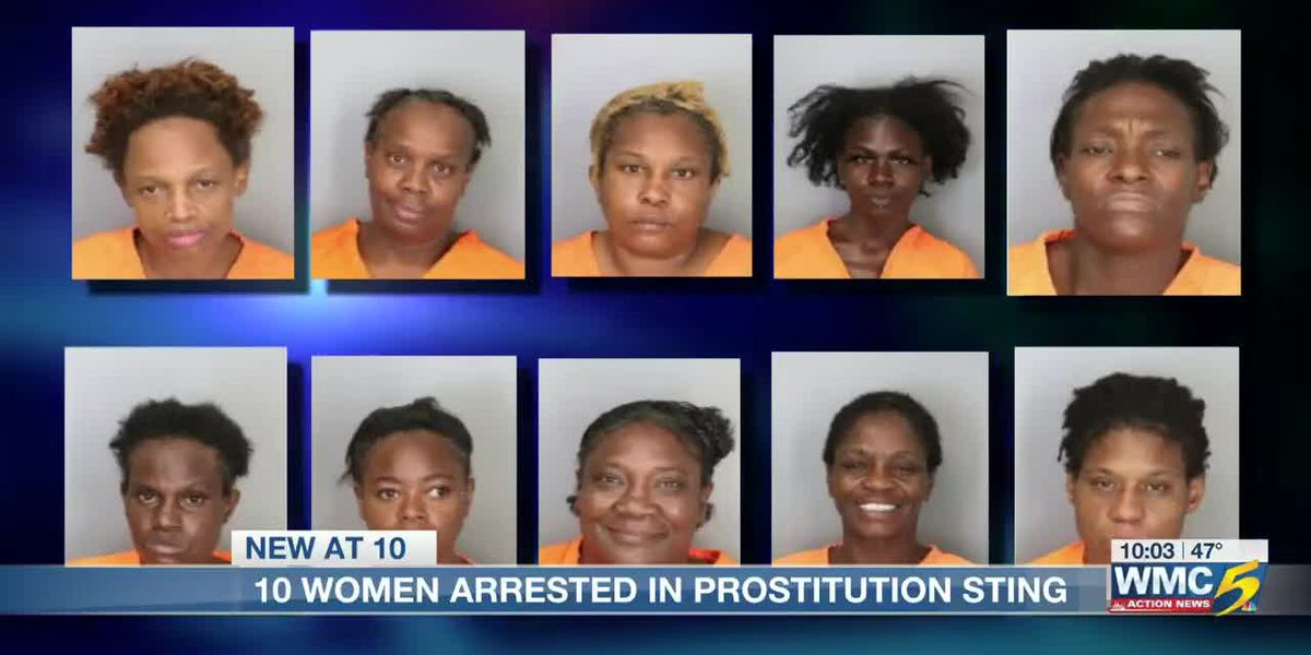 10 women arrested by MPD in prostitution ring
