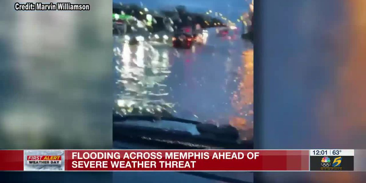 Prepare Your Home: Flooding across Memphis ahead of severe weather threat