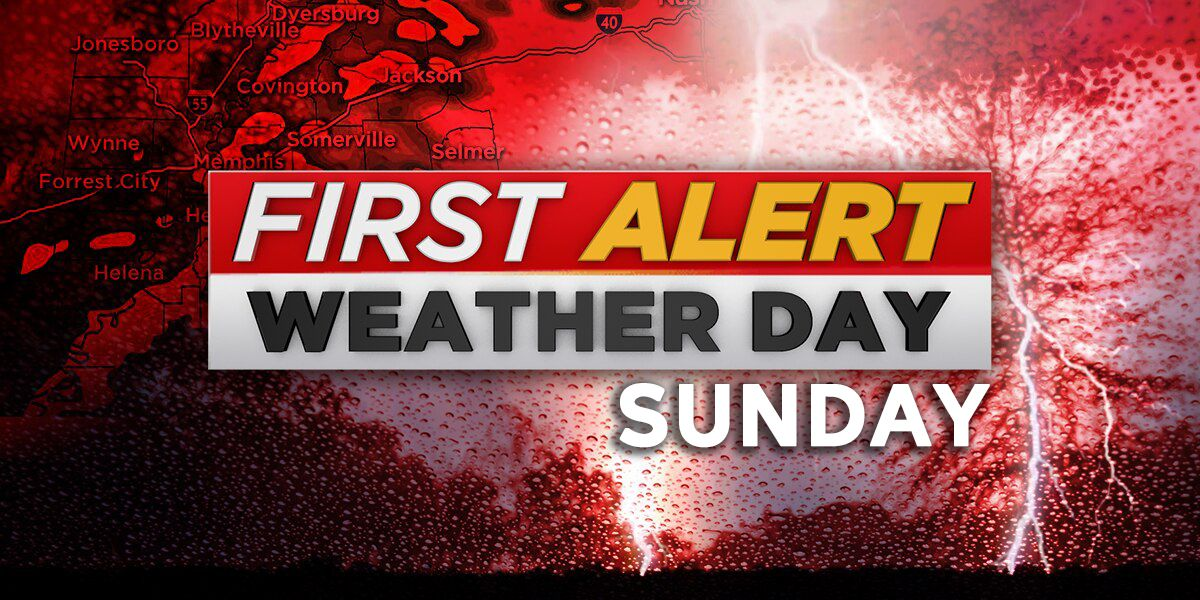 FIRST ALERT WEATHER DAY this Mother's Day due to threat of severe storms