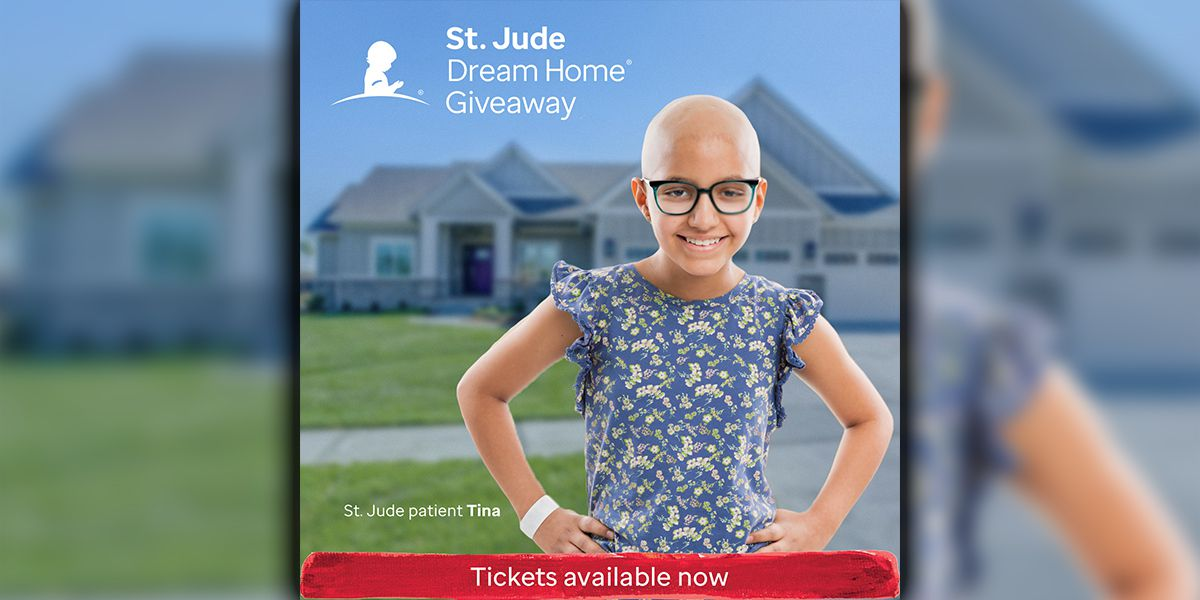 Tickets now available for 21st annual St. Jude Dream Home Giveaway!
