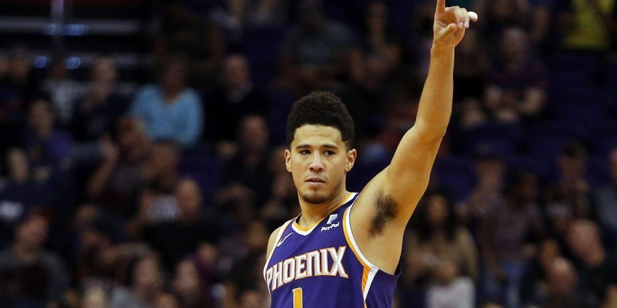 Booker hits last-second basket, Suns beat Grizzlies 102-100
