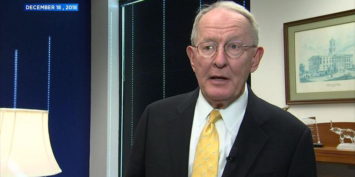 Sen. Lamar Alexander encourages bipartisan cooperation to end government shutdown