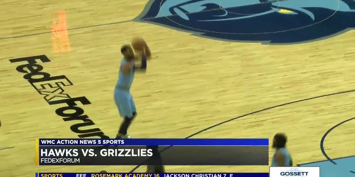 Highlights: Temple, Jackson Jr. lead Grizzlies past Hawks 131-117