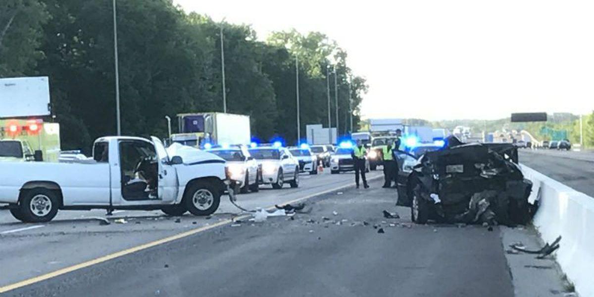 Multiple cars crash on I-40 near Covington Pike