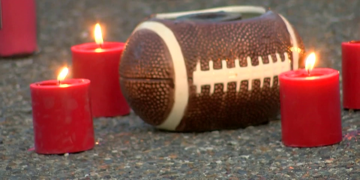 Candlelight vigil held for Whitehaven football player shot, killed at gas station